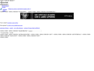 sakura.ilcannocchiale.it screenshot