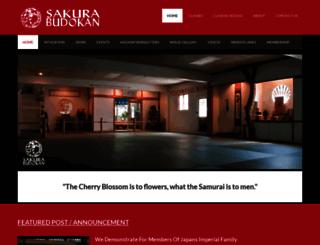 sakurabudokan.com screenshot