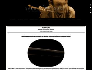 sakuramatsuriantiquariato.com screenshot