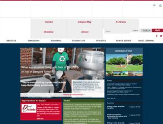 sal.muhlenberg.edu screenshot