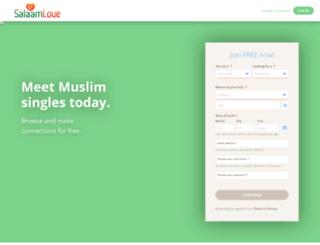 salaamlove.com screenshot