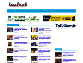 salaanmedia.com screenshot