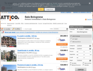 salabolognese.attico.it screenshot