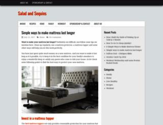 saladandsequins.com screenshot