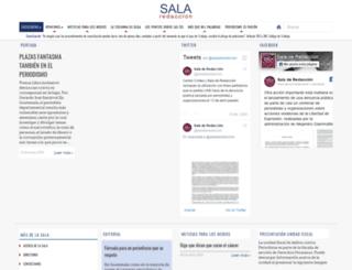 saladeredaccion.com screenshot