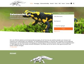 salamanders.nl screenshot