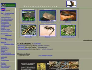 salamanderseiten.de screenshot