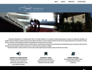 salamandraweb.com screenshot
