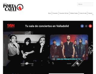 salaportacaeli.com screenshot