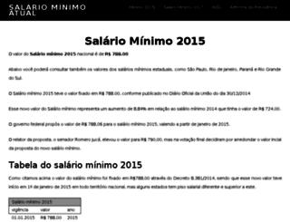 salariominimo2014.net.br screenshot