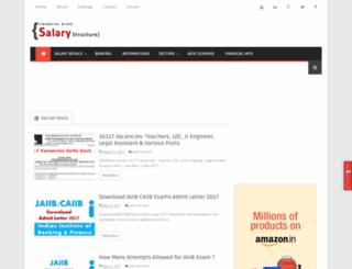 salarystructure.blogspot.in screenshot