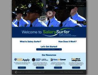 salarysurfer.cccco.edu screenshot