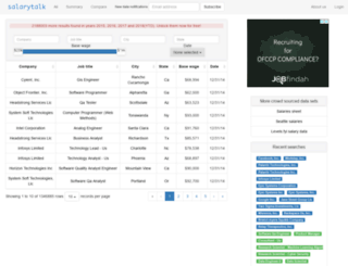 salarytalk.org screenshot