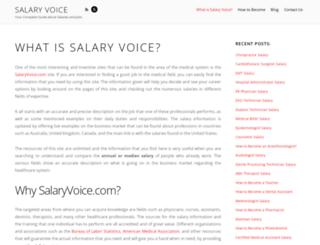 salaryvoice.com screenshot