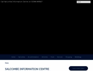 salcombeinformation.co.uk screenshot
