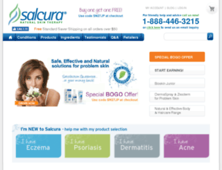 salcuranaturals.com screenshot