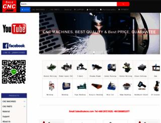 salecnc.com screenshot
