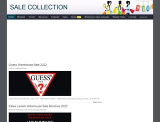salecollection.ca screenshot