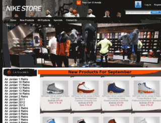 salejordan2014.com screenshot
