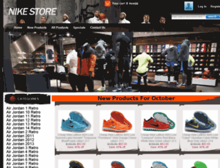 salejordans2014.com screenshot