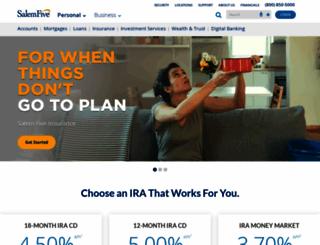 salemfive.com screenshot