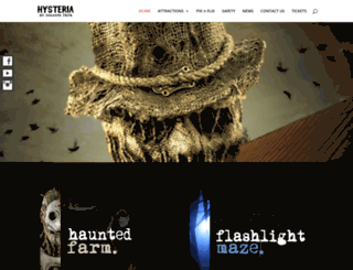 salemhauntedhouse.com screenshot