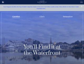 salemwaterfronthotel.com screenshot