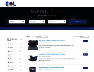 saleoldlaptop.com screenshot