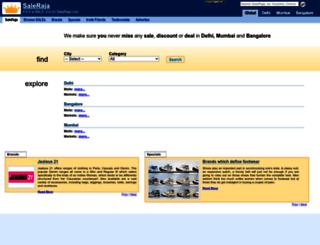 saleraja.com screenshot