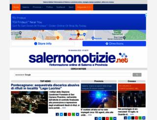 salernonotizie.net screenshot