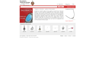 salernosjewelrystore11.ecrater.com screenshot