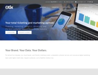sales.etix.com screenshot