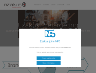 sales.ezakus.com screenshot
