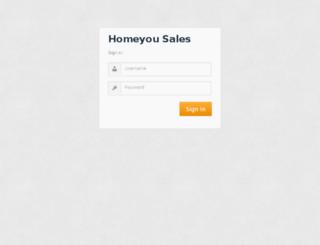 sales.homeyou.com screenshot