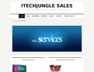 sales.itechjungle.com screenshot