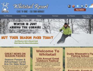 sales.skiwhitetail.com screenshot