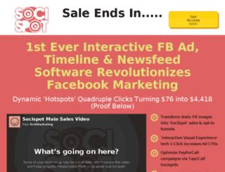 sales.socispot.com screenshot