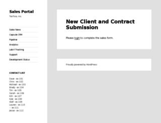 sales.textivia.com screenshot