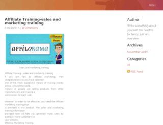 salesandmarketingtraining.weebly.com screenshot