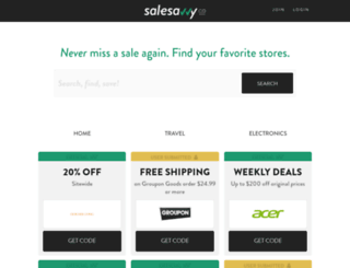 salesavvy.co screenshot