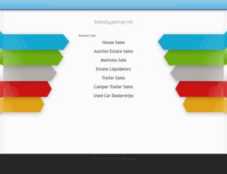 salesbygeorge.net screenshot
