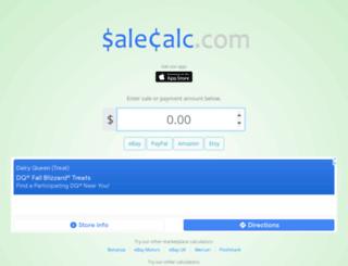 salescalc.com screenshot