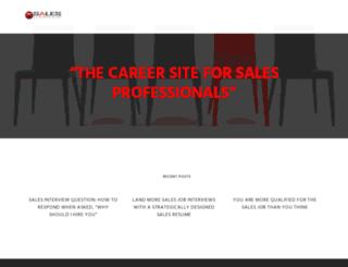salescareer.net screenshot
