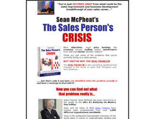 salescrisis.com screenshot