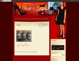 salesdiva.blogspot.com screenshot