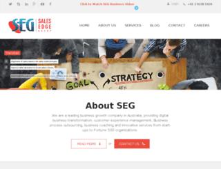 salesedgegroup.com.au screenshot