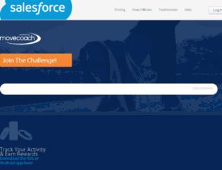 salesforce.runcoach.com screenshot