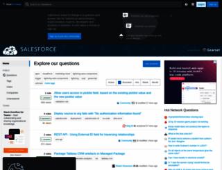 salesforce.stackexchange.com screenshot