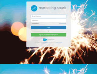 salesforcemarketingspark.com screenshot