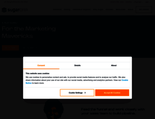 salesfusion.com screenshot